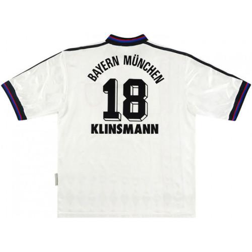 Bayern Munich 1995-97 Away Retro Jersey Klinsmann #18