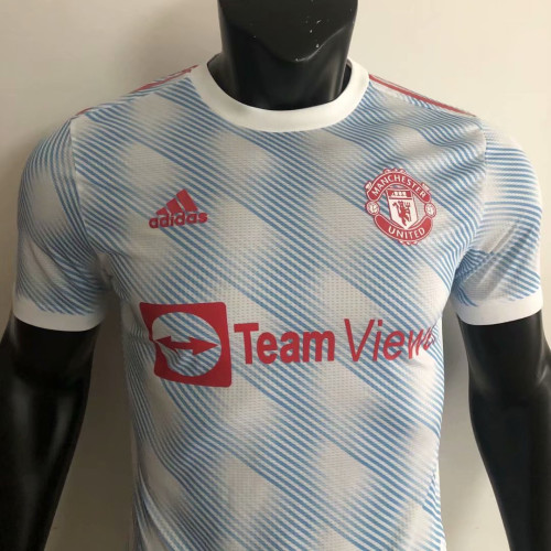 Player Version Manchester United 21/22 Away Authentic Jersey