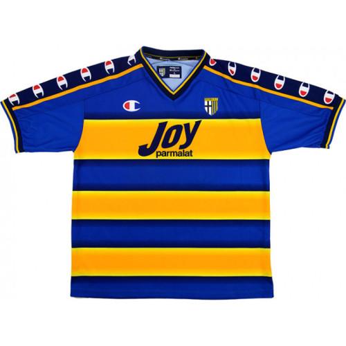 Parma Calcio 2001-2002 Home Retro Jersey Nakata #10
