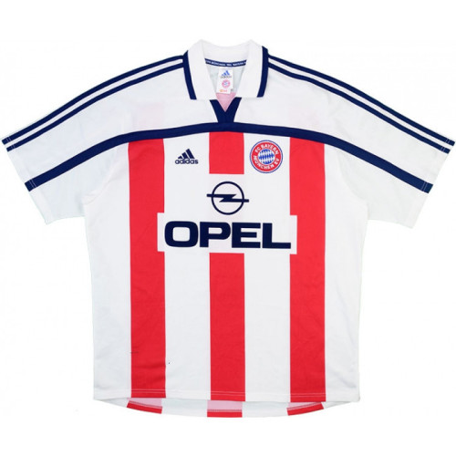 Bayern Munich 2000-2001 Away Retro Jersey