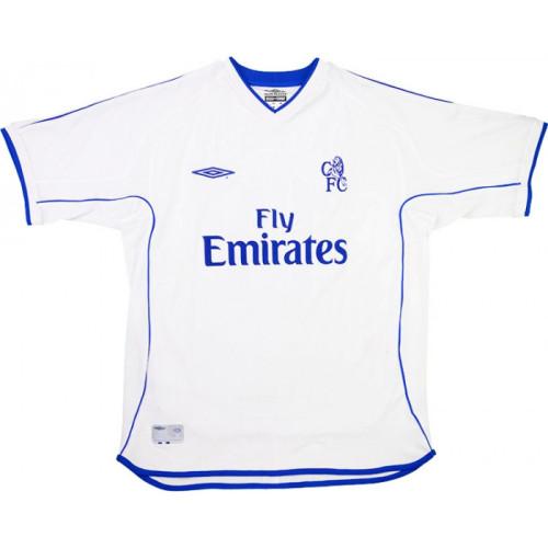 Chelsea 2001-2003 Away Retro Jersey Zola #25