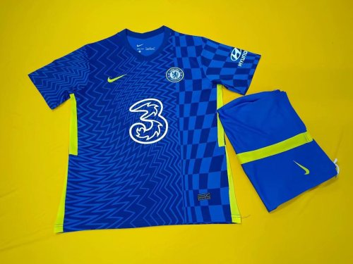Chelsea 21/22 Home Jersey and Short Kit