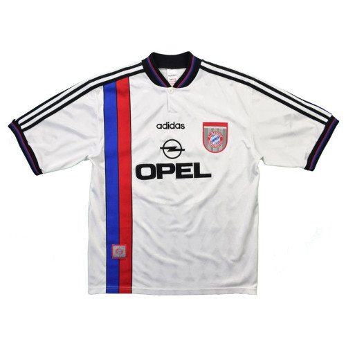 Bayern Munich 1995-97 Away Retro Jersey Scholl #7