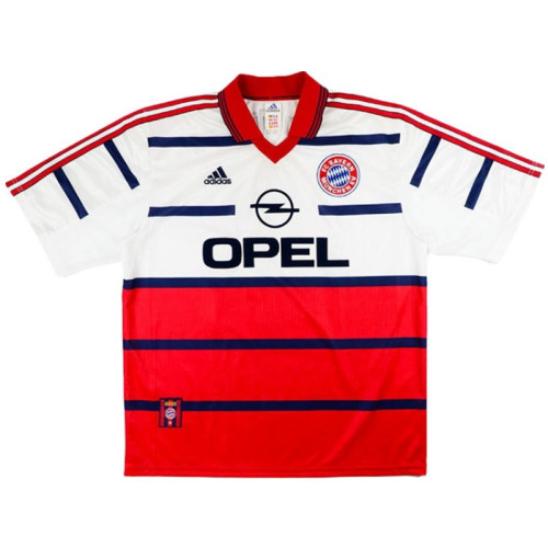 Bayern Munich 1998-2000 Home Retro Jersey Basler #14