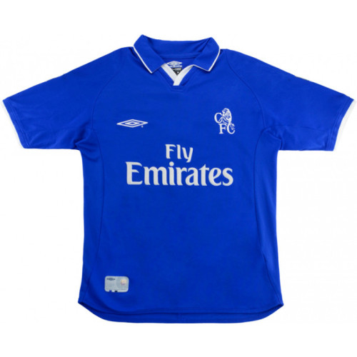 Chelsea 2001-2003 Home Retro Jersey Lampard #8