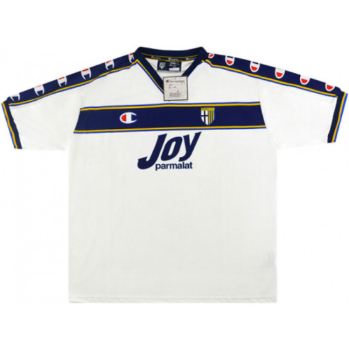 Parma Calcio 2001-2002 Away Retro Jersey