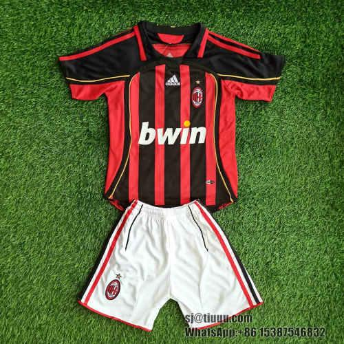 AC Milan 2006/2007 Home Retro Jersey Kit