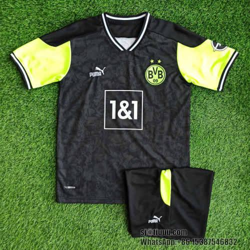 Borussia Dortmund 20/21 Fourth Jersey and Short Kit