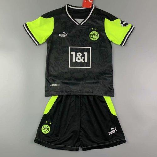 Kids Borussia Dortmund 20/21 Fourth Jersey and Short Kit