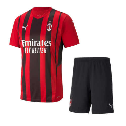 AC Milan 21/22 Home Jersey and Short Kit