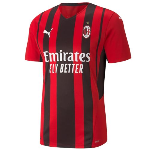 Player Version AC Milan 21/22 Home Authentic Jersey