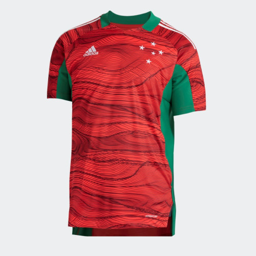 Thai Version Cruzeiro 2021 Goalkeeper Jersey