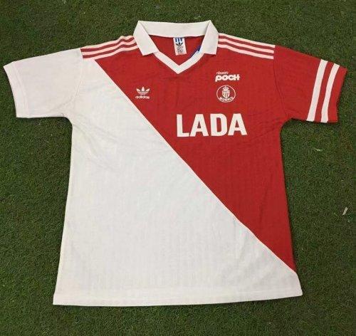 AS Monaco 1990-1991 Home Retro Jersey
