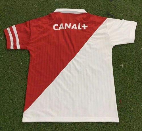 AS Monaco 1991-1992 Home Retro Jersey