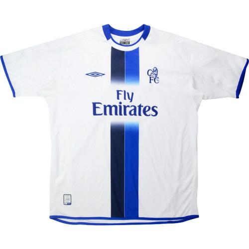 Chelsea 2003-2005 Away Retro Jersey #15 Drogba