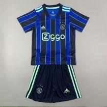 Kids Ajax 21/22 Away Jersey and Short Kit