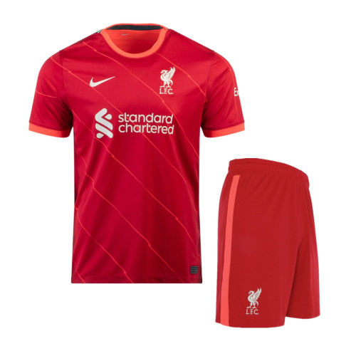 Liverpool 21/22 Home Jersey and Short Kit