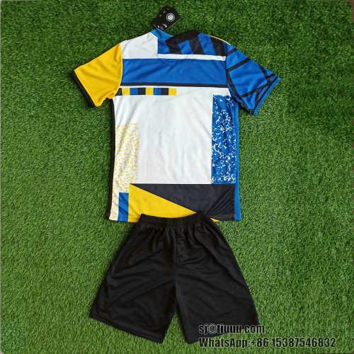 Kids Inter Milan 21/22 Fourth Jersey and Short Kit