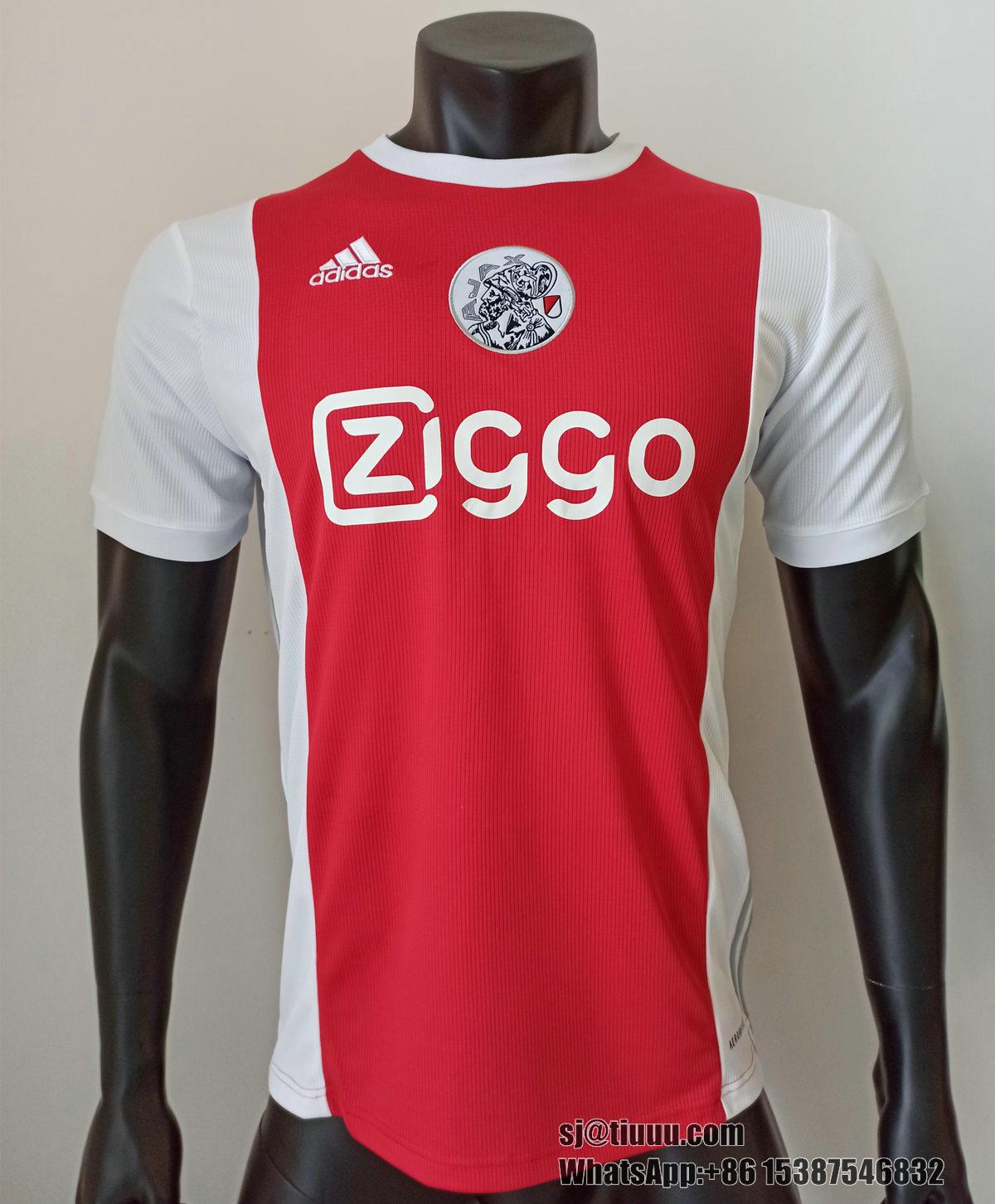 Thai Version Ajax 21/22 Home Soccer Jersey