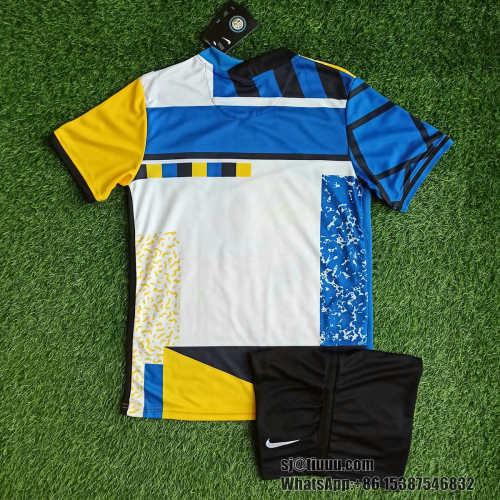 Inter Milan 21/22 Fourth Jersey and Short Kit
