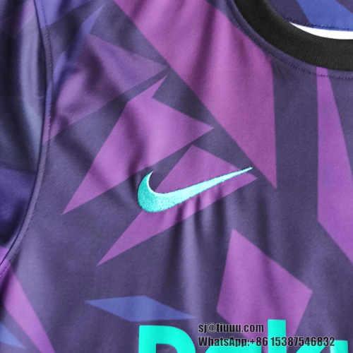 Thai Version Barcelona 21/22 Pre-Match Jersey