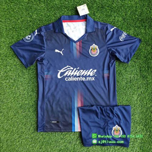(On Sale) Chivas de Guadalajara 2021 Third Soccer Jersey and Short Kit