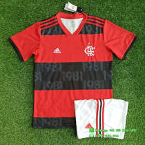 (On Sale) Flamengo 2021 Home Jersey and Short Kit
