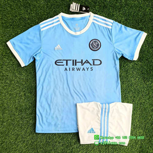(On Sale) New York City 2021 Home Soccer Jersey and Short Kit