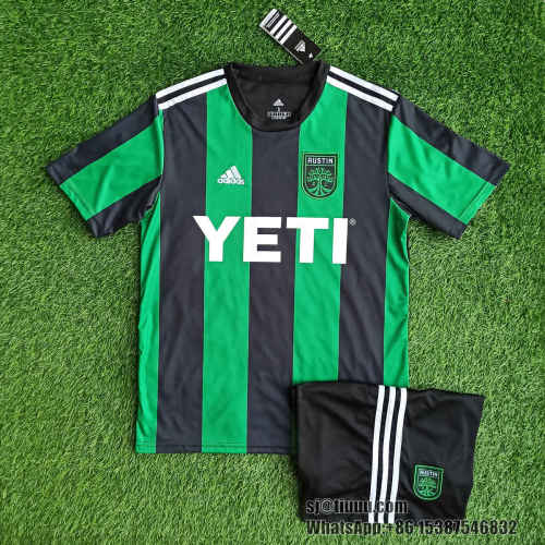 Austin FC 21/22 Home Jersey and Short Kit