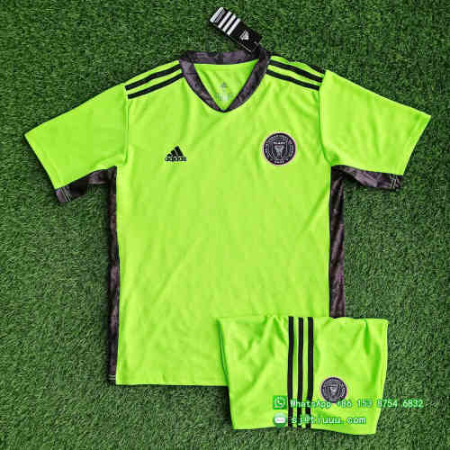 (On Sale) Inter Miami CF 2021 Goalkeeper Soccer Jersey and Short Kit