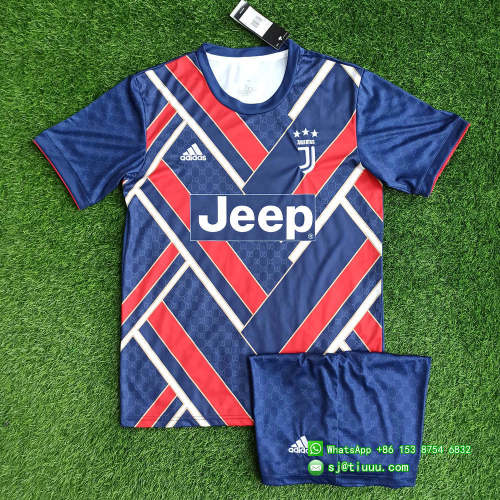 (On Sale) Juventus 21/22 Limited Edition Jersey and Short Kit - Navy