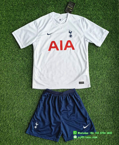 (On Sale) Kids TOT 21/22 Home Jersey and Short Kit