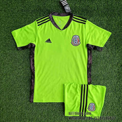 Mexico 2021 Goalkeeper Jersey and Short Kit