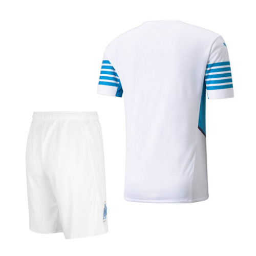 Olympique Marseille 21/22 Home Jersey and Short Kit