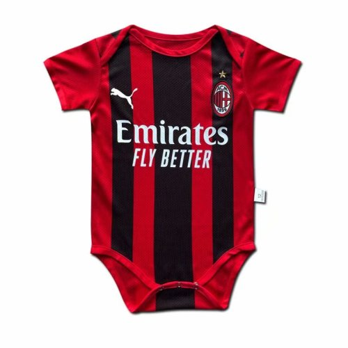 AC Milan 21/22 Home Infant Rompers