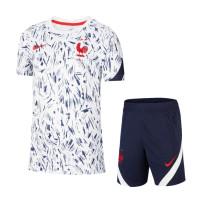 Kids France 2021 Strike Jersey and Short Kit