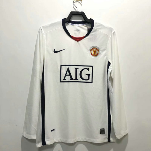 Manchester United 2008/2009 Away Retro L/S Jersey