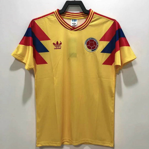 Colombia 1990 World Cup Home Jersey