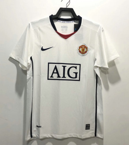 Manchester United 2008/2009 Away Retro Jersey