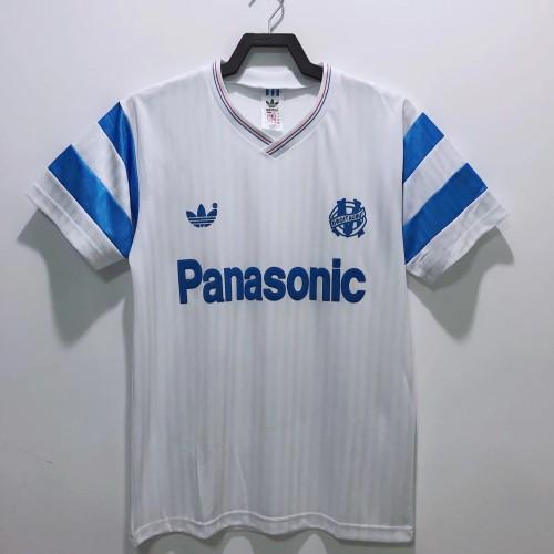 Olympique Marseille 1990/1991 Home Retro Jersey
