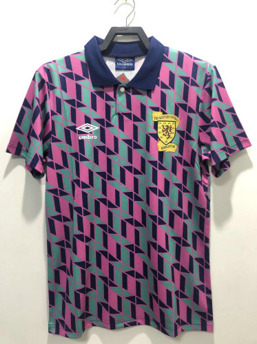 Scotland 1990/1991 Retro Leisure Jersey