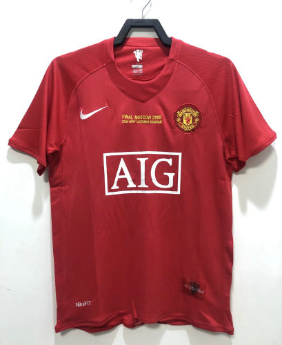 Manchester United 2008 CL Final Home Retro Jersey