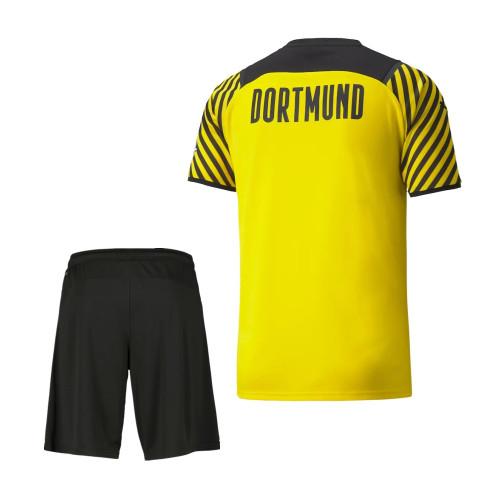 Borussia Dortmund 21/22 Home Jersey and Short Kit