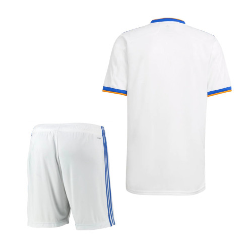 Real Madrid 21/22 Home Jersey and Short Kit
