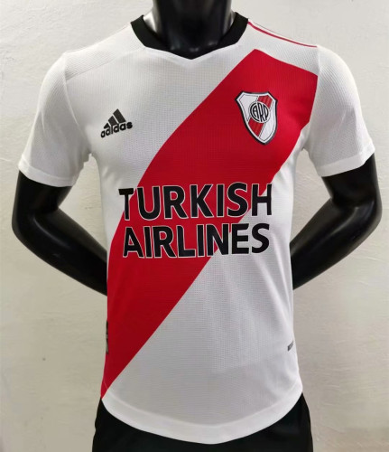 Player Version River Plate 21/22 Home Authentic Jersey - 120 Years Anniversary