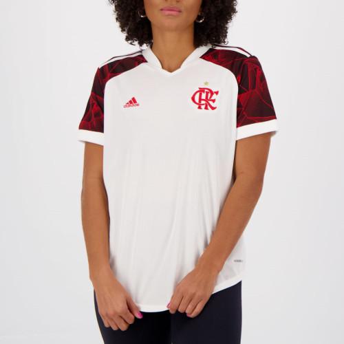 Thai Version Women's Flamengo 2021 Away Jersey