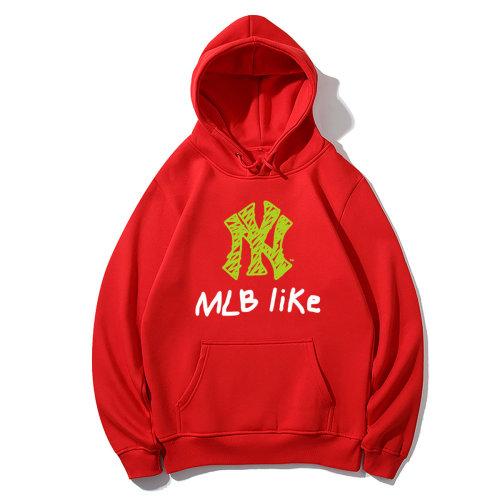 Sports Brand Hoodies Red 2021.6.5