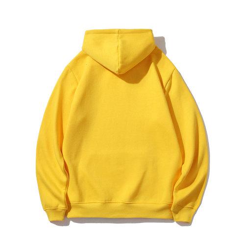 Sports Brand Hoodies Yellow 2021.6.5