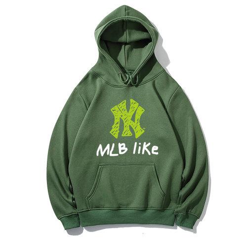Sports Brand Hoodies Green 2021.6.5
