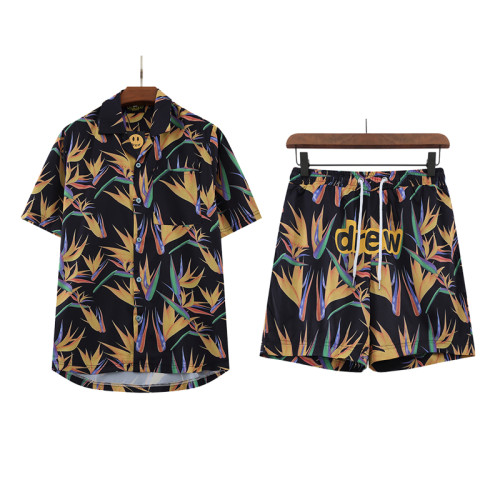 Streetwear Brand Shirt and shorts Suits 2021.6.5